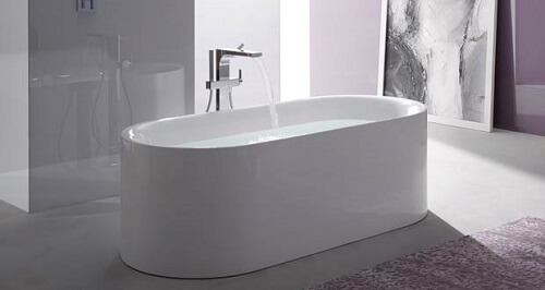 un sol en galets pour votre douche l 39 italienne. Black Bedroom Furniture Sets. Home Design Ideas