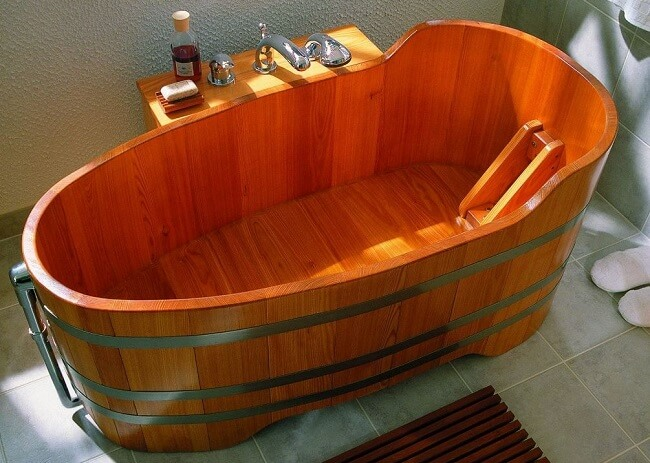 Photos De Baignoires en bois - douches-et-baignoires.COM