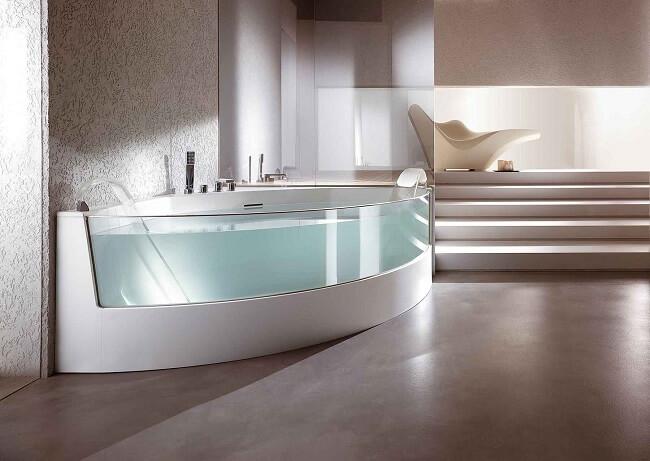 photos de baignoires d 39 angle douches et baignoires com. Black Bedroom Furniture Sets. Home Design Ideas
