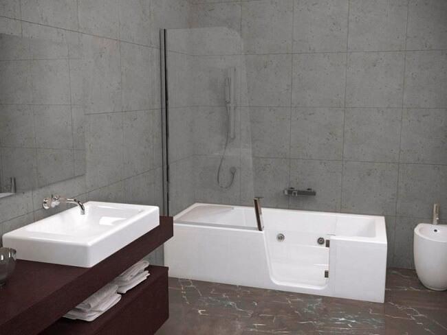 photos de douches en acrylique douches et baignoires com. Black Bedroom Furniture Sets. Home Design Ideas