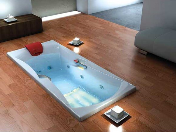 photos de baignoires encastrables douches et baignoires com. Black Bedroom Furniture Sets. Home Design Ideas